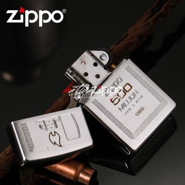 Bật lửa Zippo Mỹ kỷ niệm nhà máy đạt 500 mẫu