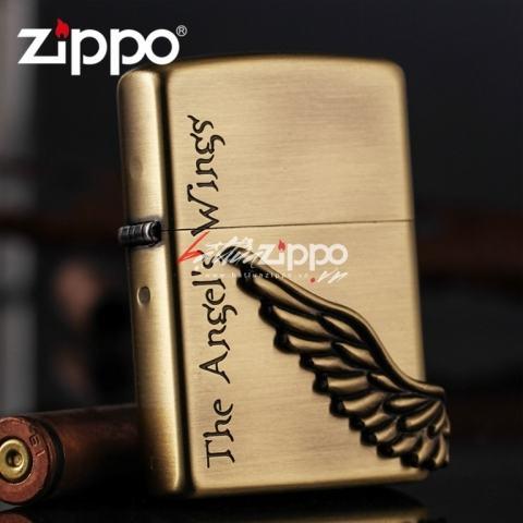Bật lửa zippo chính hãng phiên bản Hàn Quốc The Angel's Win